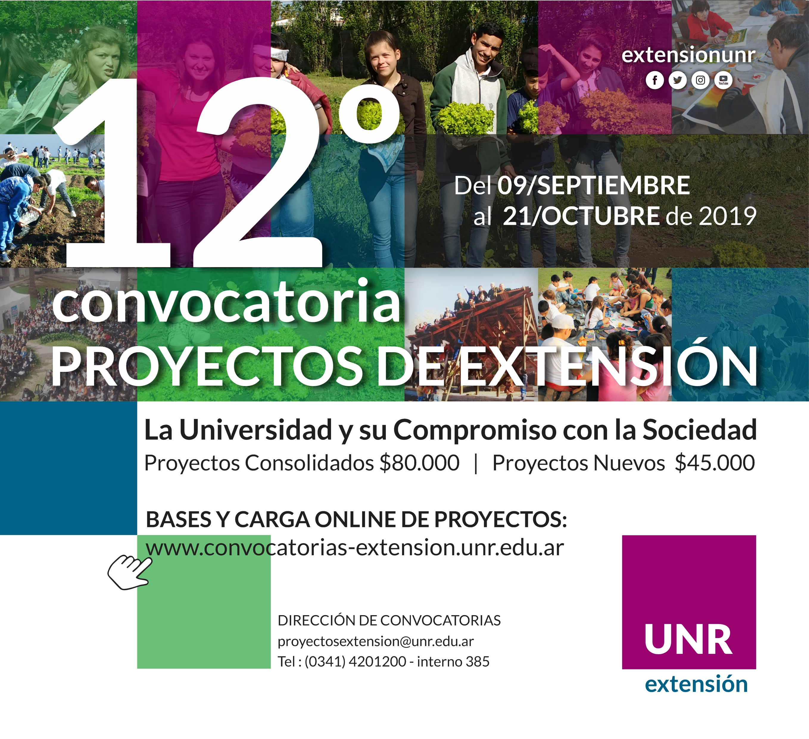 12 CONVOCATORIA Proyectos Final